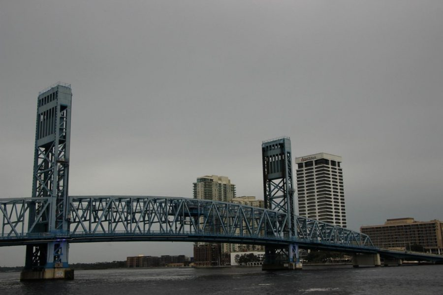 The Main Street Bridge is one out of several that goes over the St. Johns River.