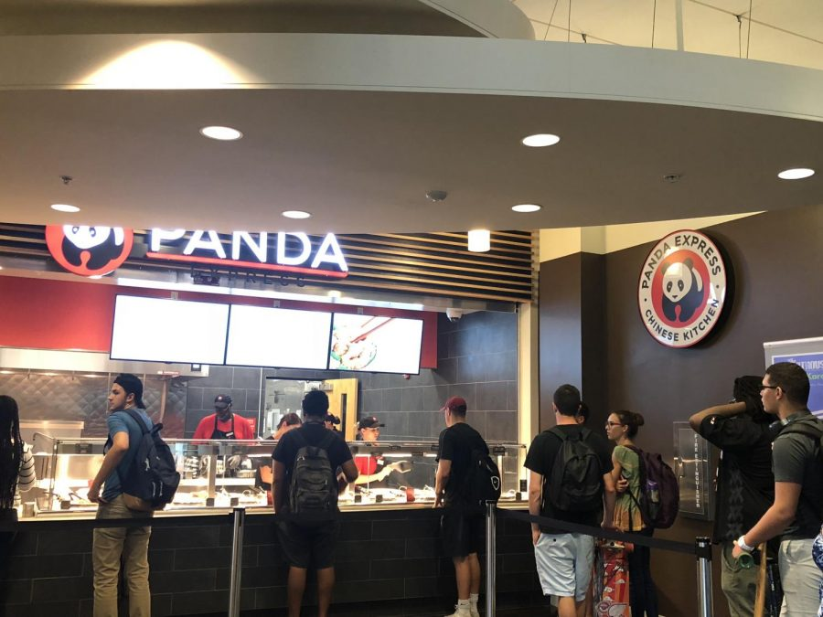 Panda Express is open at the Student Union.