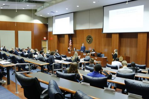 Senate holds its first meeting of the fall term