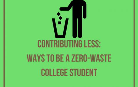 Contributing Less: Ways to be a zero-waste college student