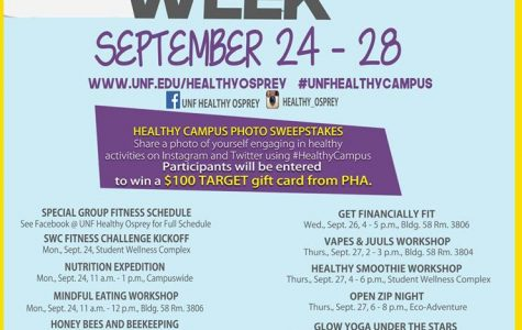 UNF Healthy Campus Week 2018