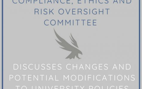 Compliance, Ethics and Risk Oversight Committee discusses changes and potential modifications to University policies
