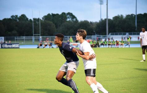 Men's Soccer earns first victory of season