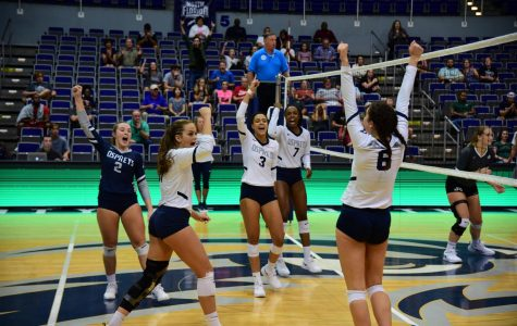 Ospreys Volleyball sweeps JU