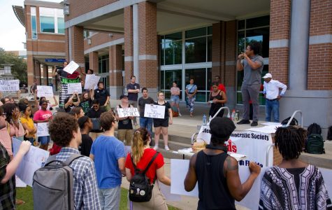 UNF SDS holds a Blacks Lives Matter rally to stand against racial injustice and police brutality