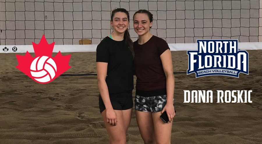 UNF's Dana Roskic named to Team Canada in Youth Olympic Games