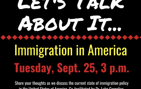 Department of Diversity Initiatives hosts opportunity to discuss immigration