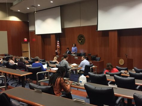 Student Government: Record turnout for special Osprey Voice, budget requests and candidate interviews