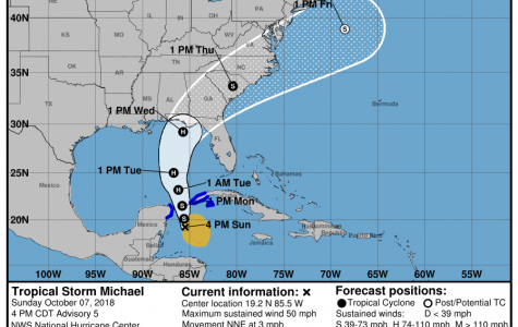 Tropical Storm Michael expected to be a hurricane
