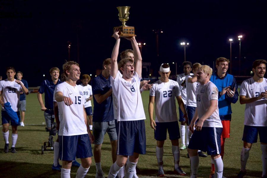 Scott's two goals lifts Ospreys to 2-1 victory against JU
