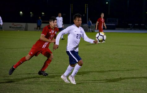 Men's Soccer Clinches ASUN Playoff berth in 4-1 win