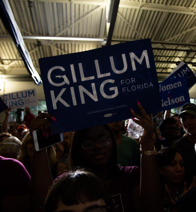 Photo Gallery: Democratic Rally
