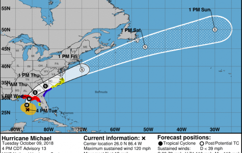 Hurricane Michael upgrades to a major Category 3 hurricane