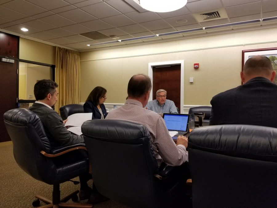The Space Committee discussed the timeline for various campus renovations and projects.