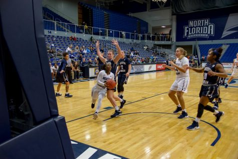 ASUN Semifinal: Women's basketball loses a nail biter to JU in overtime