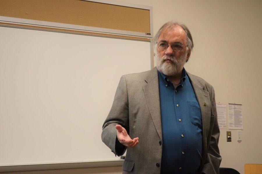 Associate Professor David Schwam-Baird. Photo courtesy of the University of North Florida