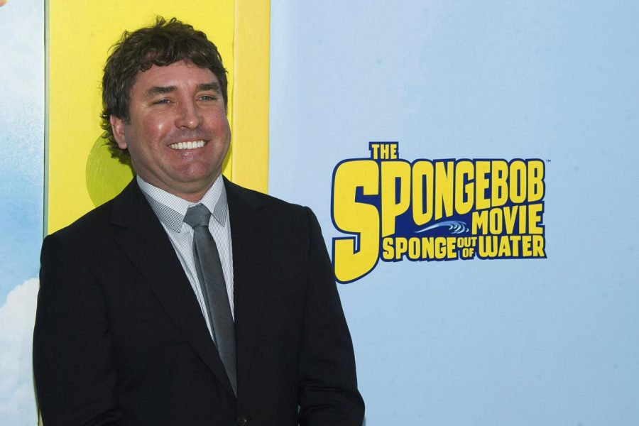 Stephen Hillenburg, creator of Spongebob Squarepants. Photo courtesy of AP.