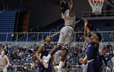 Sams and Aminu lead Ospreys in first round win over North Alabama