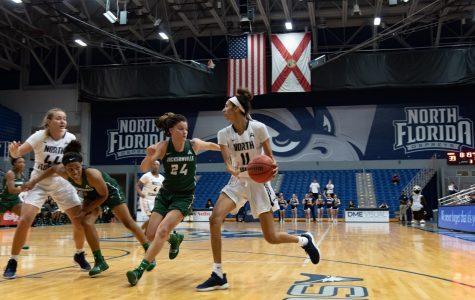 Women's Basketball vs. Jacksonville University 2019 11Jazz Bond