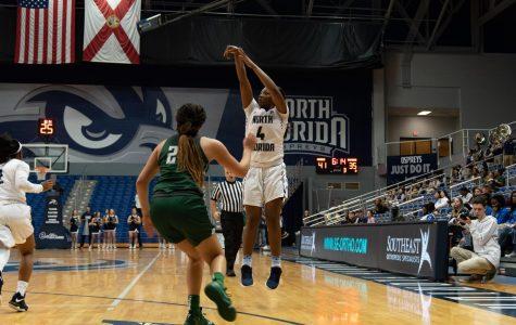 Women's Basketball vs. Jacksonville University 2019 4Adrienne Jackson