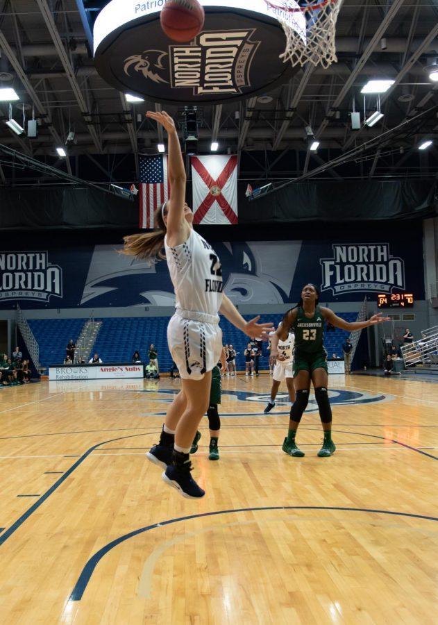 Women%E2%80%99s+Basketball+vs.+Jacksonville+University+2019%0A22%09Lauren+Gross