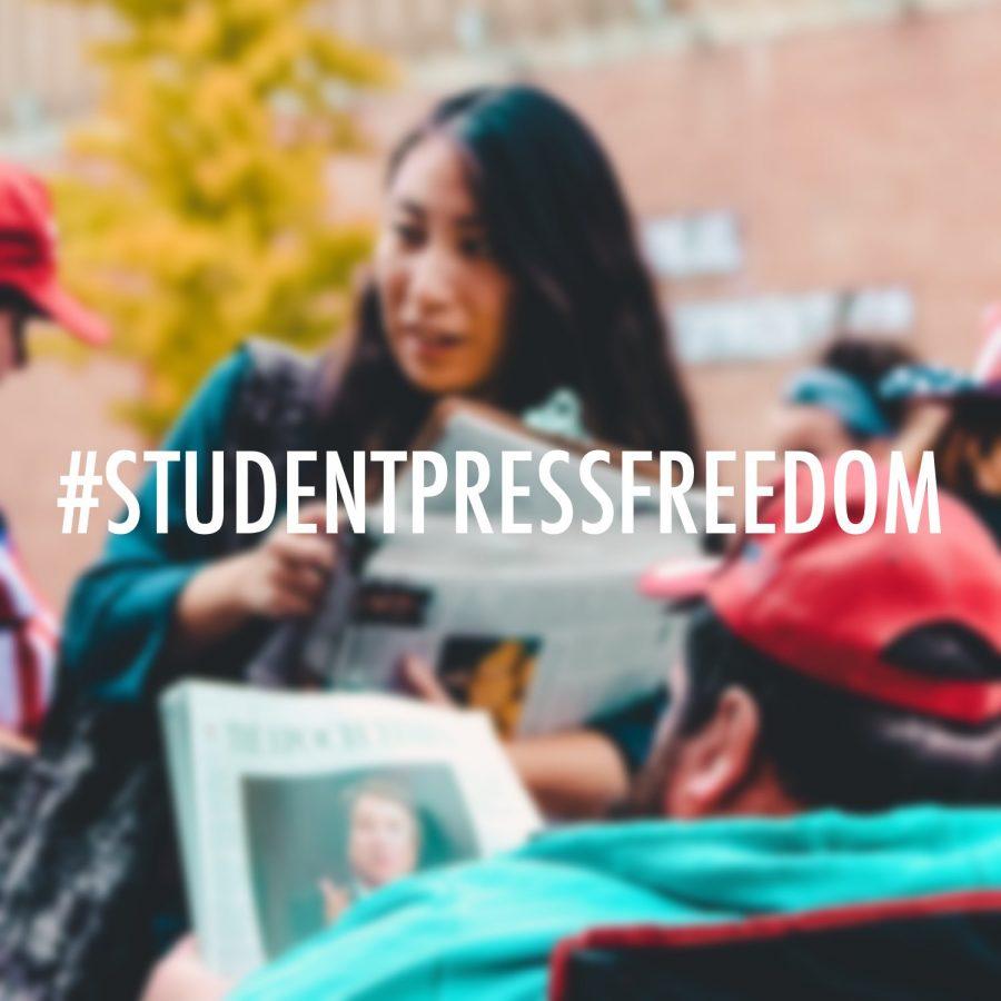 #StudentPressFreedom