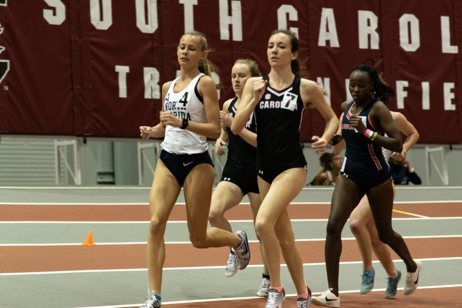Ospreys hit their stride at ASUN Track and Field Indoor Conference Championships