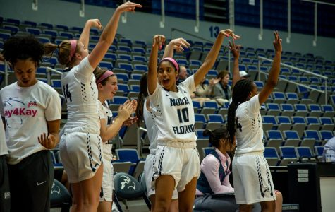 UNF Men's and Women's Basketball earn major conference wins over Flames