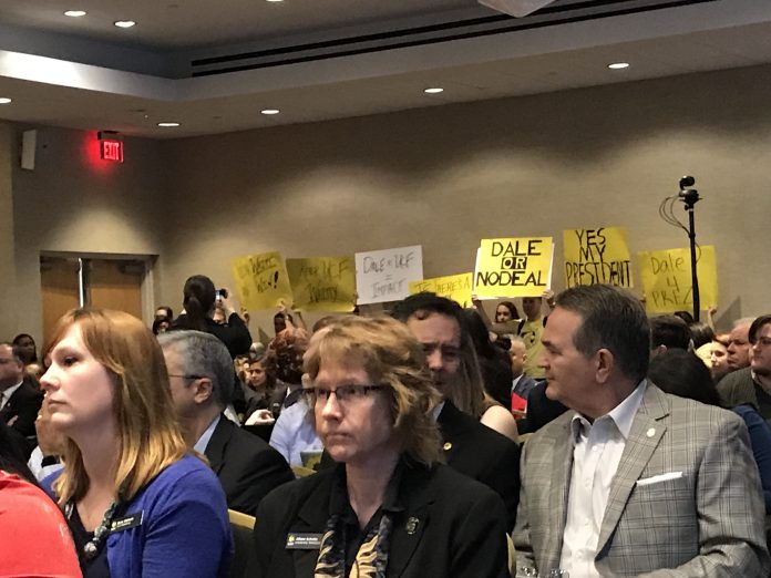 UCF Board of Trustees accept Dale Whittaker's resignation