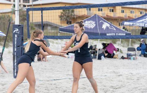 Ospreys fall short in ASUN Beach Volleyball Semifinals