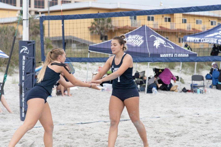 Ospreys fall short in ASUN Beach Volleyball Semifinals
