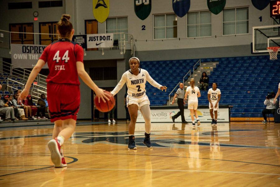 Women's basketball vs. NJIT 2019 Ty Purifoy