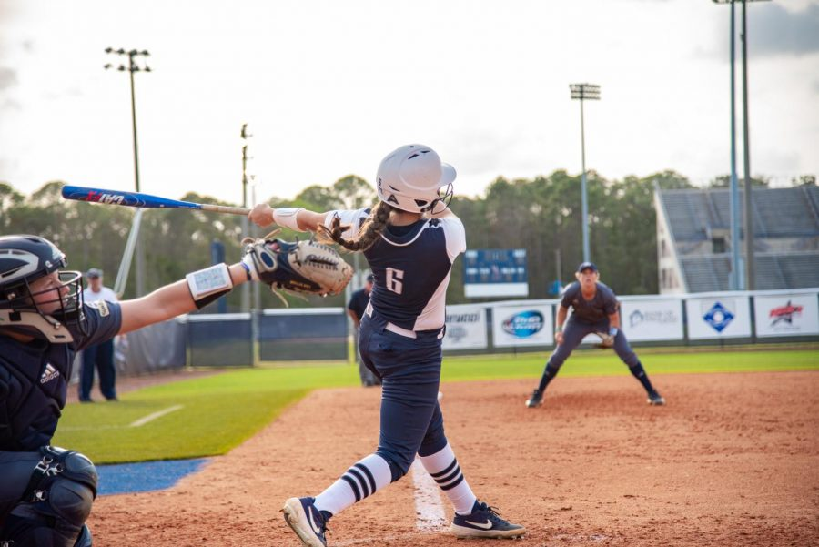Softball vs. Georgia Southern University 2019 Dominica Cocuzza