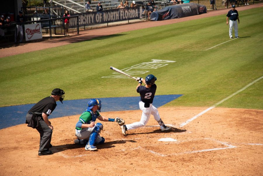 Weeks homers thrice in win over UNA