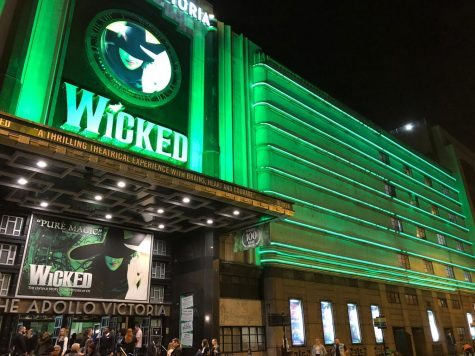 "The musical ""Wicked"" on the West End."