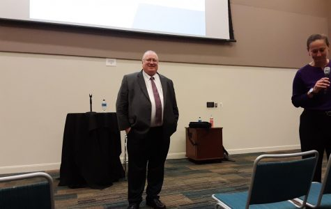 Dr. Russell Ivy at Open Forum
