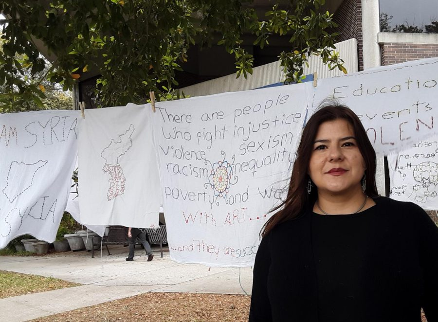 Im also concerned with how art and activism can change lives. -Dr. Constanza Lopez