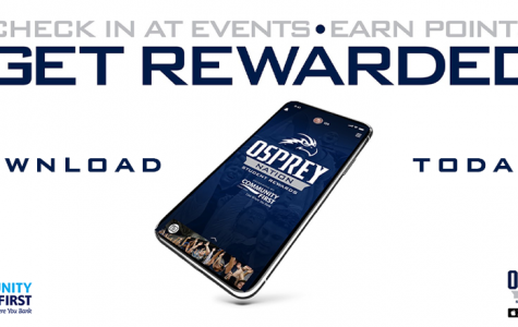 UNF Athletics introduces new Osprey Nation Student Rewards app