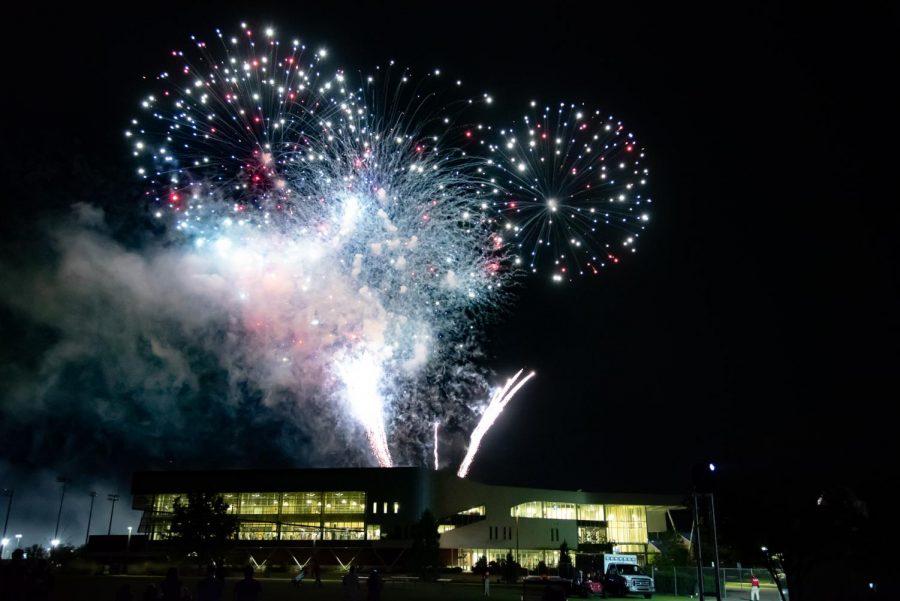 2019 Semester send off, Fireworks Show