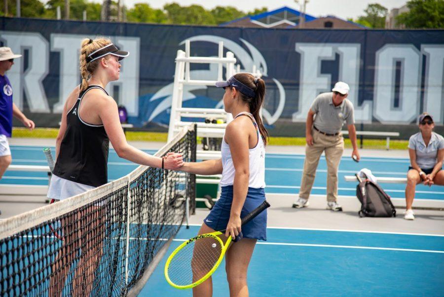 UNF Womens Tennis vs. University of North Alabama 2019