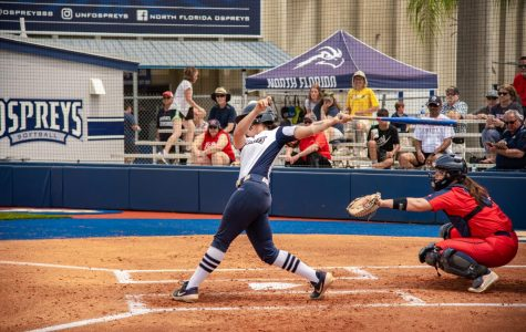Ospreys take two but fall to Bisons in ASUN Championship