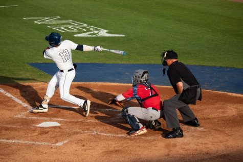 UNF outfielder takes flight
