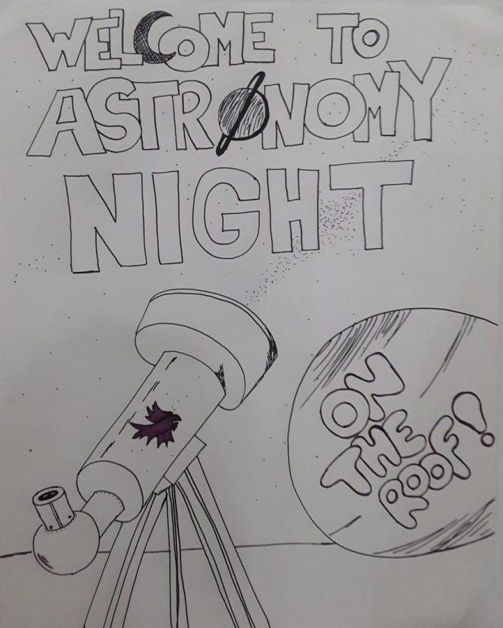 A stellar evening at astronomy night
