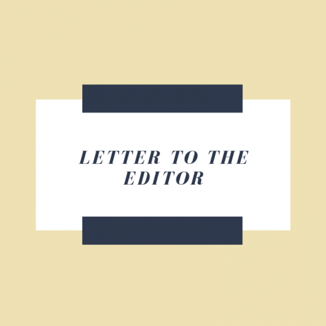 "Text box that reads ""Letter to the Editor."" Graphic by Lianna Norman."