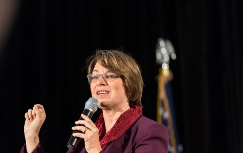 Photo of presidential candidate Amy Klobuchar