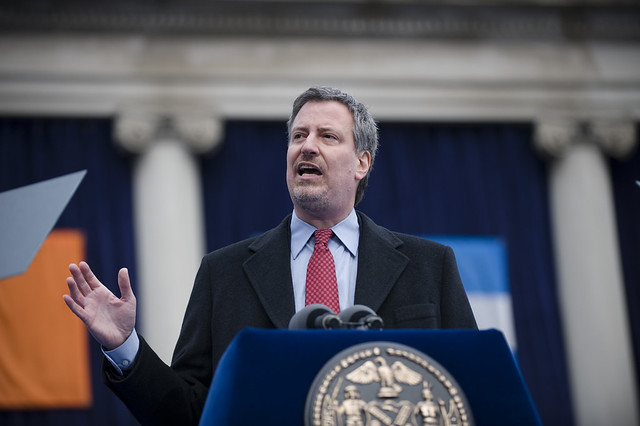 2020 democratic presidential candidate: Bill de Blasio
