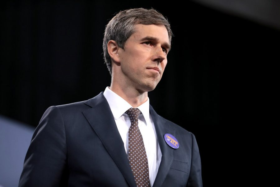 Photo of former U.S. congressman Beto O' Rourke