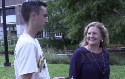 Reporter Drew making Dad jokes