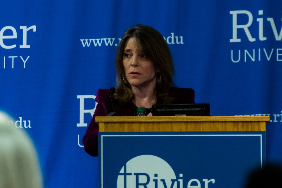 2020 democratic presidential candidate: Marianne Williamson