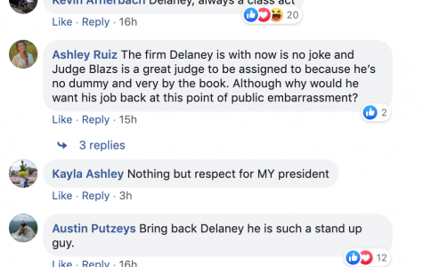 Students respond to Delaney's involvement in Tumeo scandal